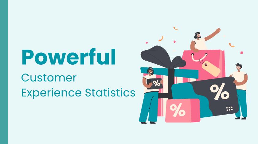 powerful customer experience statistics 2021